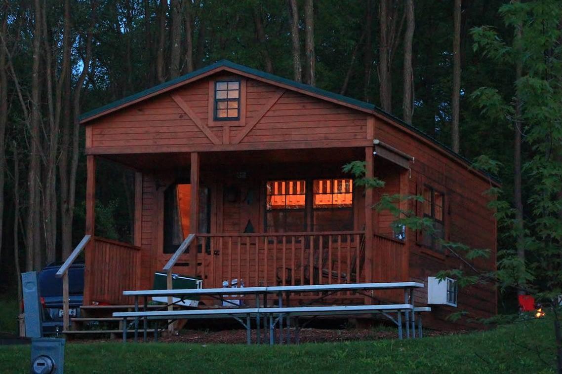 cabin at twilight2